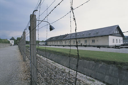 Dachau Concentration Camp Photo (© Comstock images 2009)
