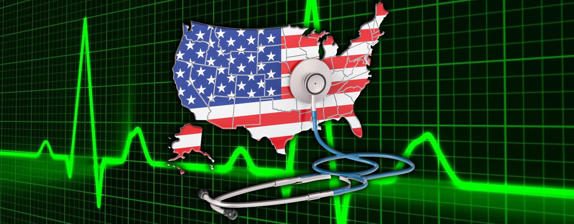stethoscope taking america's pulse