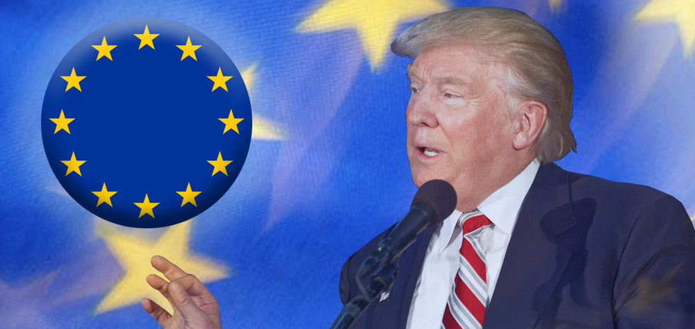 Image result for trump vs the european union