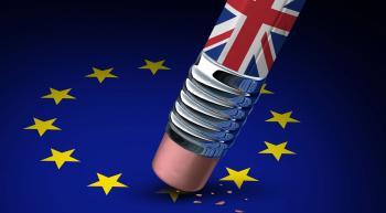 erasing the British star off of the EU flag