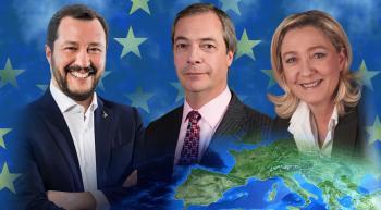 Le Pen, Salvini and Farage