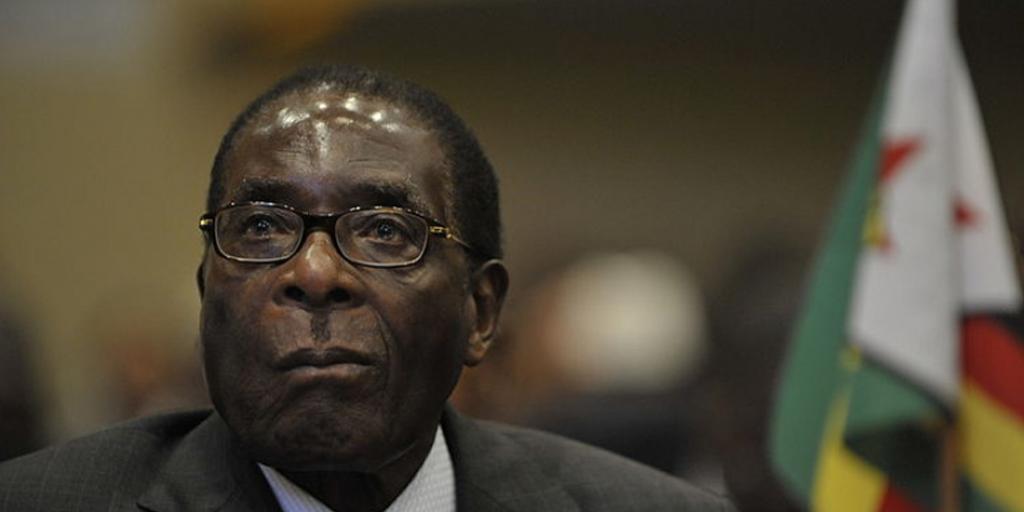 Zimbabwe dictator, Robert Mugabe