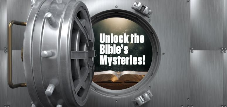 Unlock the Mysteries of the Bible! - Banner (1)