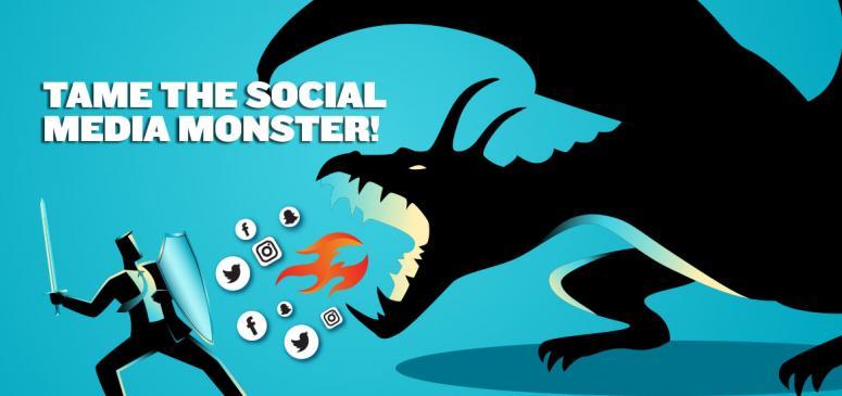 Tame the Social Media Monster! - (Banner 1)