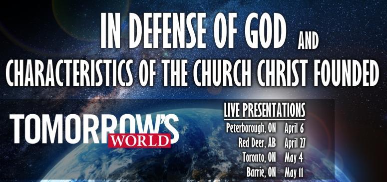 CANADA - Tomorrow's World Live Presentations 2019