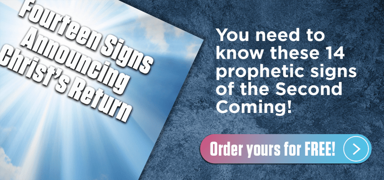 Literature Offer: Fourteen Signs Announcing Christ's Return (FS)