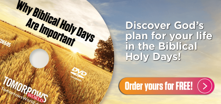Literature Offer: Why Biblical Holy Days Are Important (TDE605)