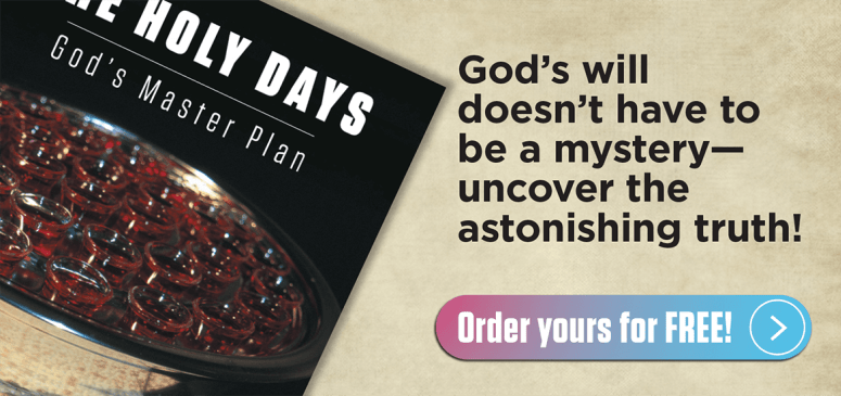 Literature Offer: The Holy Days–God's Master Plan! (HD)