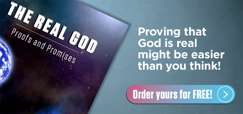 Literature Offer: The Real God: Proofs and Promises (RG)