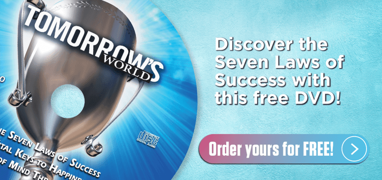 Literature Offer: The Seven Laws of Success (TCE290)