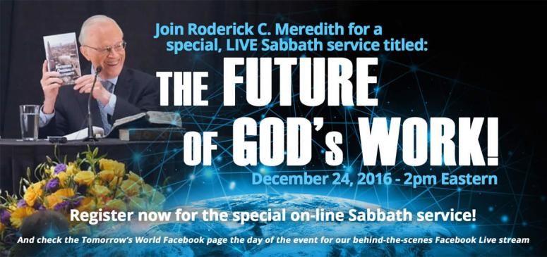 The Future of God's Work! - Banner