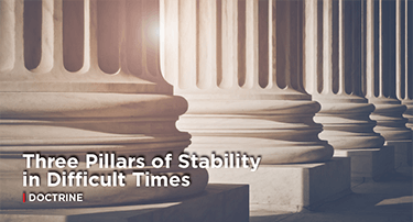 Article: Three Pillars of Stability in Difficult Times