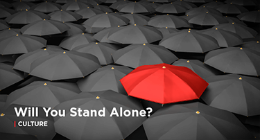 Article: Will You Stand Alone?