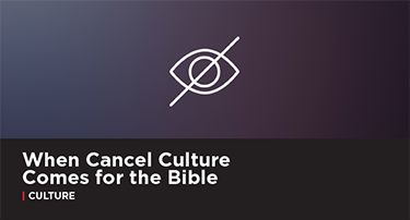 Article: The Subtle Art of Canceling the Bible