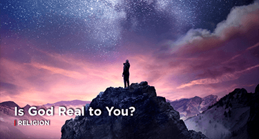 Article: Is God Actually Real to You?