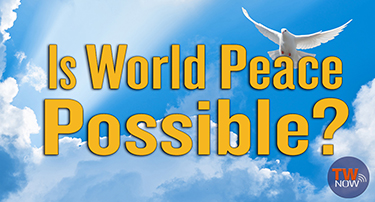 TWNow: Is World Peace Possible?