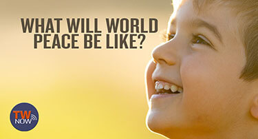 TWNow Video Thumbnail: What Will World Peace Be Like?